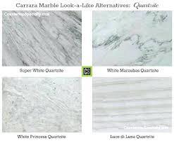 quartz countertops that look like carrara marble marble like quartz four colors that look like marble