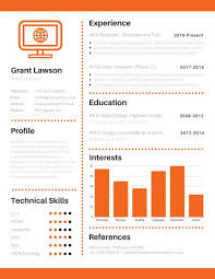 Infographic Resume Unique Customize 60 Infographic Resume Templates Online Canva