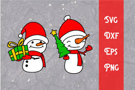 Every path element is drawn at the same time with a small delay at the to give more freedom, it's possible to override the animation of each path and/or the entire svg. The Snowman Svg Christmas Svg Cut File Graphic By Dadan Pm Creative Fabrica