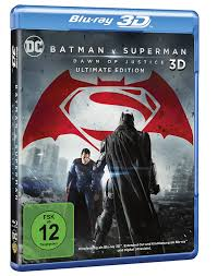 Batman v Superman: Dawn of Justice – Ultimate Edition 3D Blu-ray:  Amazon.de: Cavill, Henry, Affleck, Ben, Gadot, Gal, Adams, Amy, Fishburne,  Laurence, Lane, Diane, Eisenberg, Jesse, Irons, Jeremy, Hunter, Holly,  Snyder, Zack,