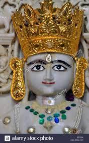 Indian Jain God White Marble High ...