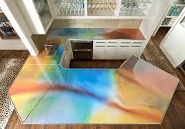 kitchen bathroom vanity with glass counter and ideas recycled diy countertop broken sustainable options slate recycled glass best ideas