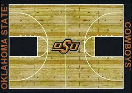 milliken college basketball court area rug 5 4