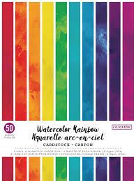 Colorbok Watercolour Rainbow Cardstock Walmart Canada