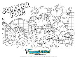 Classy Idea Printable Summer Coloring Pages For Adults Summer