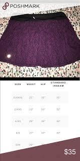 Lululemon Black And Purple Skort