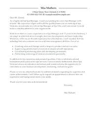 Cover Letter For Spa Great Receptionist Cover Letters Spa Resume