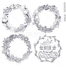 ベクター 花輪 ガーランドのイラスト素材 16234356 Pixta