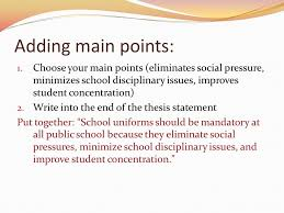 thesis statements no thesis no essay gives direction and focus  3 adding