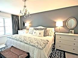 grey white bedroom – Interior and Furniture