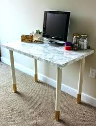 covering furniture with contact paper. Ikea Contact Paper Marble Top Desk Kitchen  . Covering Furniture With E