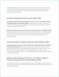 Career Resume Examples Best Change Management Resume Elegant Change Career Resume Sample