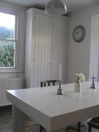 Pine Kitchen Cupboard Doors Handmade Kitchen Larder Cupboard With Tongue And Grrove Doors