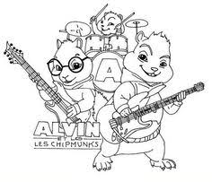 Small Picture Top 25 Free Printable Alvin And The Chipmunks Coloring Pages