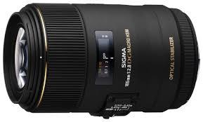 <b>Объектив Sigma AF</b> 105mm f/2.8 EX DG OS HSM Macro <b>Nikon</b> F ...