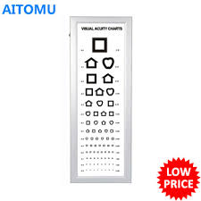 Visual Testing Led Eye Chart System Light Box Eye Test Buy Visual Testing Chart Led Eye Chart Lcd Chart System Product On Alibaba Com