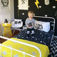 Little boys batman room