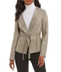 green jackets antonio melani luxury collection sawyer genuine leather jacket womens olive