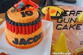 michelle paige blogs Nerf Gun Party