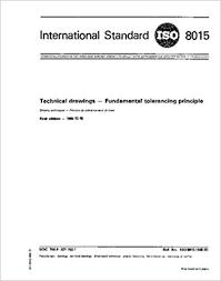 Iso 8015 Tolerancing Chart Download Amazon Com Iso 8015 1985 Technical Drawings Fundamental