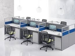 ... Large Size of Office:27 Modern Wooden Chinese Manufacturer H Shape  Office Workstation Design Layout ...
