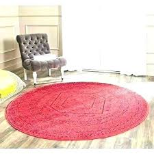3 ft round rugs 7 foot braided rug black