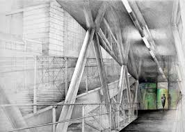 architectural drawings. Architectural Drawings By Klara Ostaniewicz