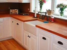 cabinet handles for dark wood. Stunning Laminate Oak Wood Countertop With Bronze Faucet And Acrilic Sink Plus White Wooden Cabinet Connect Handles For Dark