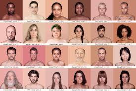 The Pantone Chart Of Every Human Skin Color Human Skin