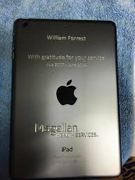 cnc diamond drag engraving on ipad mini