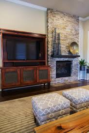 Stone Fireplace Remodel Your Fireplace Walls Finish Consider This Important Detail With
