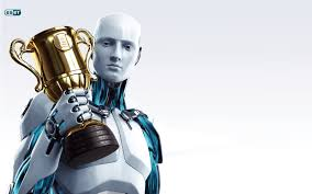 eset nod32 3d robot hd wallpapers wallpapers in hd for 1600x1000