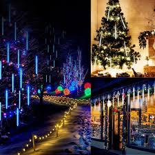 Falling Christmas Tree Lights Best 10 Tubes 300 Leds 300mm Meteor Shower Lights Falling Rain Drop Multiclor Eu Sale Online Shopping Cafago Com