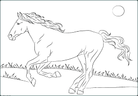Free Printable Realistic Horse Coloring Pages Free Horse Coloring