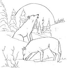 Free Coloring Pages Peter And The Wolf Psubarstoolcom