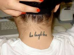83 Cute Neck Tattoos For Women