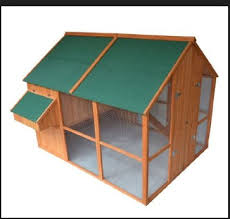 It is imperative that you opt for chicken coops for sale that is of a  strong structure and which will keep going for a long time to come