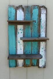 beachy wooden wall art