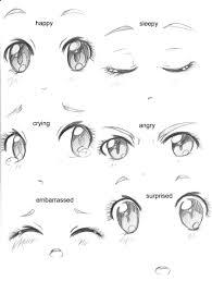 Manga Eyes Expressions By Capochideviantartcom On At Deviantart