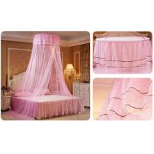 Generic Lace Hanging Bedding Mosquito Net Dome Top Princess Bed ...