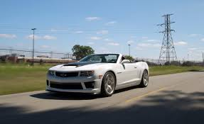 2012 SLP Chevrolet Camaro ZL1 Convertible – Review – Car and Driver