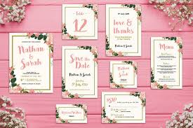 wedding invitation design templates 90 gorgeous wedding invitation templates design shack