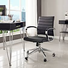 lexmod ribbed mid office. Jive Mid Back Office Chair In Black - Lifestyle Lexmod Ribbed M