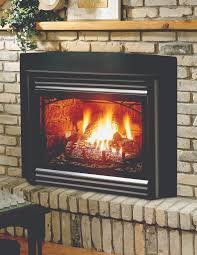 inserts are complete units that fit into existing wood burning fireplaces they require no additions gas insertgas logsglass