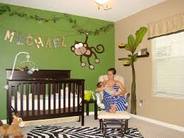 Monkey Bedroom Decor Custom Decor Jungle Baby Room Jungle Theme Nursery For  Boys