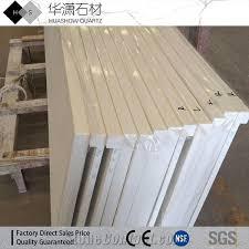 pure white quartz countertops laminated edges quartz kitchen tops