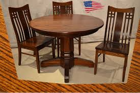 amish dining chair. Amish Dining Furniture Michigan Rockford Pedestal Table Peoria Chairs Chair N
