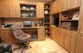 office and storage space. Custom Home Office With Storage Space And A