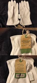 leather gardening gloves for smaller