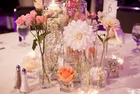 diy simple centerpiece decorate the round table